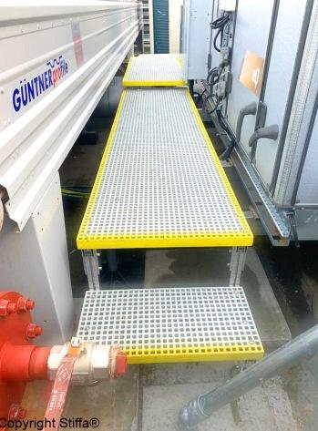 GRP Walkway On MCD Adjustable Support 1