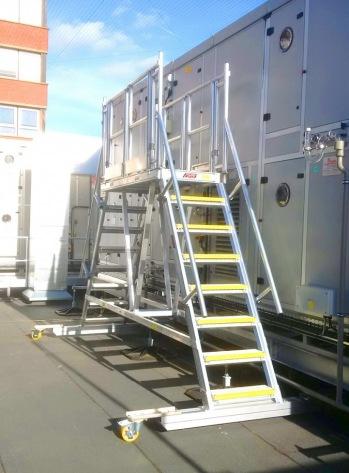 Mobile AHU Cabinet Platform