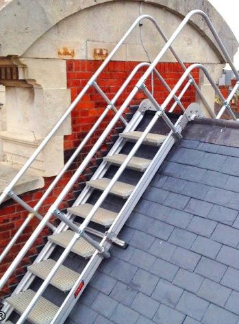 Steps Over Slate Roof 3