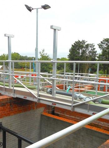 Walkway Bridge Water Treatment Plant