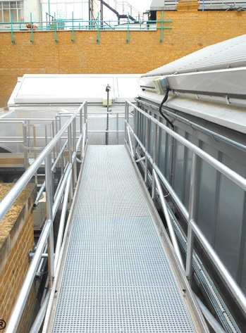 Walkway Ladder Combination