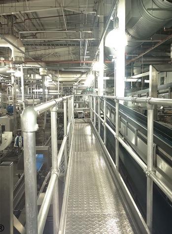 WW Treadplate Inside Bottling Plant
